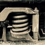 De lente van de trein Royalty-vrije Stock Afbeelding