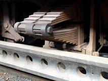 De lente van de trein Stock Afbeeldingen
