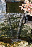 De lente van de waterval in park Royalty-vrije Stock Foto