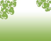 De lente van 2017 Groen abstracte achtergrond met bladeren Stock Afbeelding
