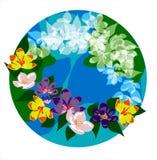 De lente van het embleem Royalty-vrije Stock Fotografie