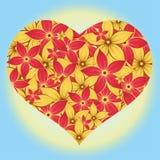De Lente van het hart Stock Foto's
