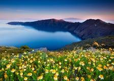 De Lente van Santorini Royalty-vrije Stock Foto