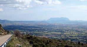 De lente van Sardinige royalty-vrije stock afbeelding