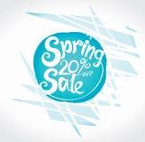 De lente 20% van Verkoop Stock Foto