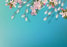 De lente vectorachtergrond Royalty-vrije Stock Foto's