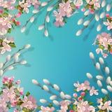 De lente vectorachtergrond Stock Fotografie