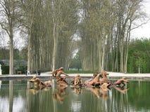 De lente in Versailles Royalty-vrije Stock Foto's