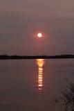 De lente zonsondergang-4 Royalty-vrije Stock Afbeelding