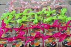 De lentebloem cupcakes Stock Afbeeldingen