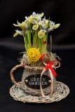 De lentebloemstukken Stock Foto