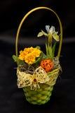De lentebloemstukken Stock Afbeeldingen