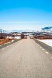 De lentedag in de Zweedse bergen Royalty-vrije Stock Foto's