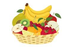 De lentefruit stock illustratie