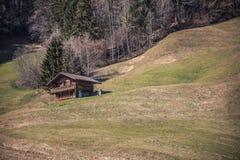 De lenteindrukken van marbach, emmentaler entlebuch Zwitserland royalty-vrije stock fotografie