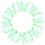 De lentekader met lelietje-van-dalen 3 royalty-vrije illustratie