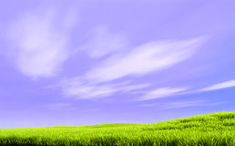 De lentelandschap Royalty-vrije Stock Foto