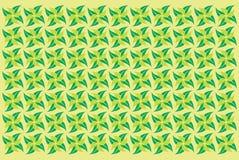 De lentepatroon met blad Stock Foto