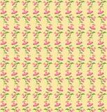 De lentepatroon met roze bloemen Royalty-vrije Stock Afbeeldingen