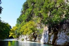 De lentes van Acheron-rivier Stock Fotografie