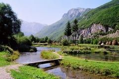 De lentes van ali-Pasa - Montenegro Stock Foto's