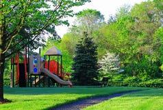 De lentespeelplaats Royalty-vrije Stock Foto