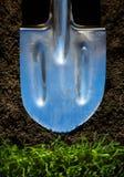 De lentetijdlandbouw van het kunstconcept de landbouwachtergrond Royalty-vrije Stock Afbeelding
