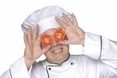 De lenzen van de tomaat. Stock Foto