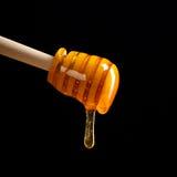 De lepel van de honing royalty-vrije stock fotografie