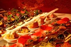 De lepel van de luxe dient buffet Royalty-vrije Stock Afbeelding