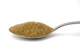 De lepel van de suiker stock foto