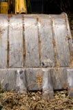 De lepelgrond van de staalhand. Stock Afbeeldingen