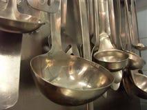 De lepels van de catering Royalty-vrije Stock Foto