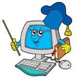 De leraar van de computer Stock Foto