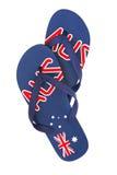De Leren riemen van Aussie Stock Foto's
