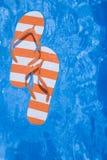 De Leren riemen van de pool stock foto's