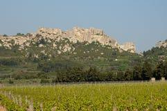 De les-Baux-DE-Provence Stock Foto's