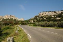 De les-Baux-DE-Provence Royalty-vrije Stock Foto's
