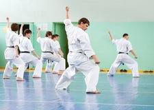 De les van de karate royalty-vrije stock fotografie