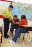 De Les van de middelbare school Stock Afbeelding