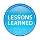De lessen leerden bloemen blauwe ronde knoop royalty-vrije illustratie