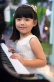 De lessen van de piano Stock Foto's