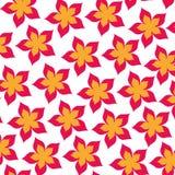 De leuke achtergrond van het bloempatroon Royalty-vrije Stock Fotografie