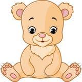De leuke baby draagt beeldverhaal royalty-vrije illustratie