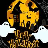De leuke illustratie van Halloween Stock Afbeelding
