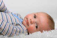 De leuke Jongen van de Baby Stock Foto