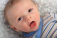 De leuke Jongen van de Baby Stock Afbeeldingen