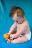 De leuke Jongen van de Baby Royalty-vrije Stock Fotografie