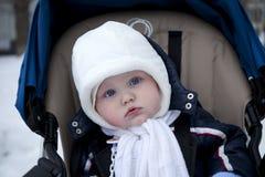 De leuke jongen van de 8 maand oude baby Royalty-vrije Stock Fotografie