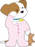 De leuke Pyjama's van het Puppy vector illustratie